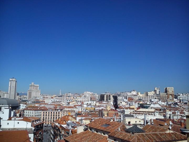 madrid city scape