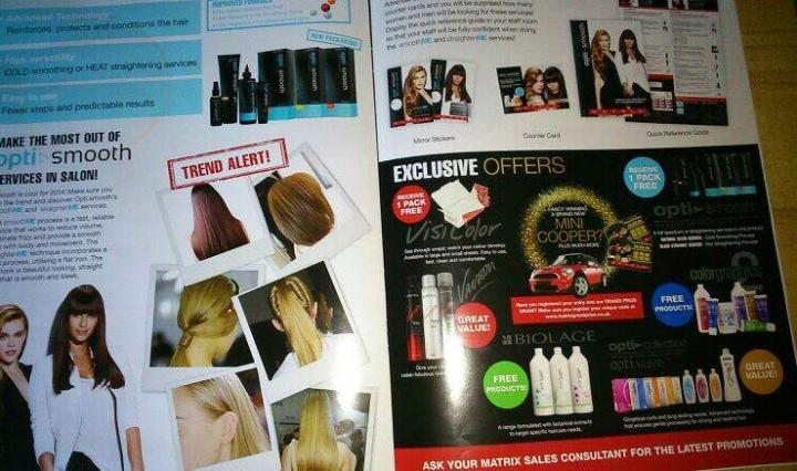 matrix magazine centre spread