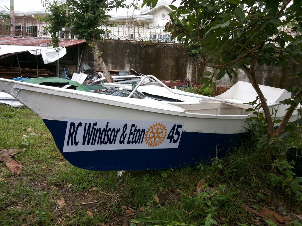 Rotary Club Windsor and Eton ONE BOAT 45