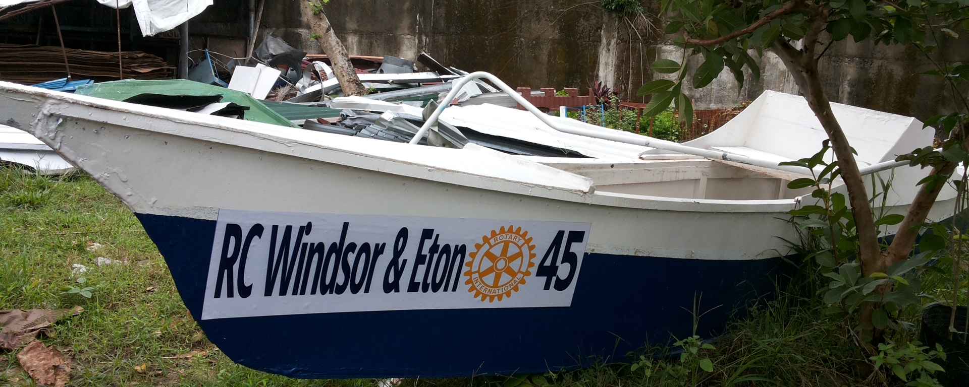 Rotary Club Windsor and Eton ONE BOAT 45