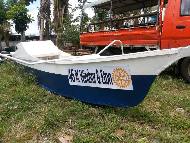 Rotary Club Windsor and Eton ONE BOAT 46