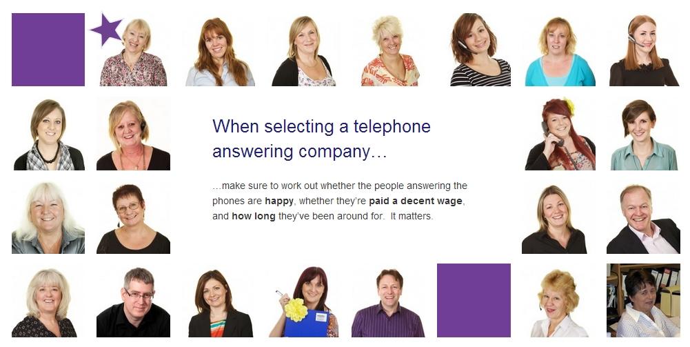 verbatim call answering people