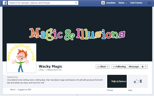 wacky magic and illusions
