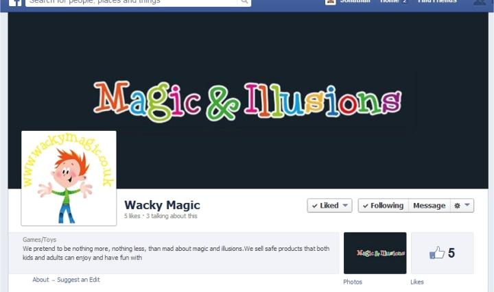 wacky magic and illusions