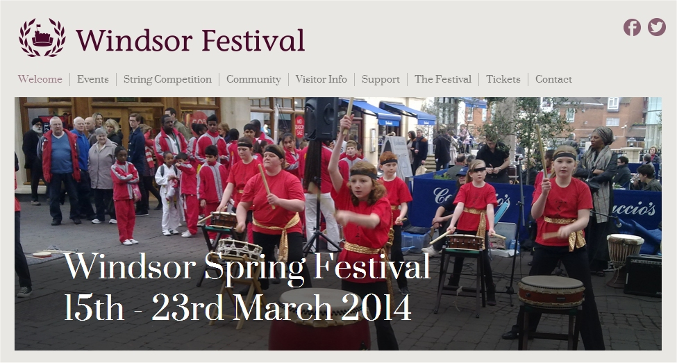 windsor spring festival 15-23 march