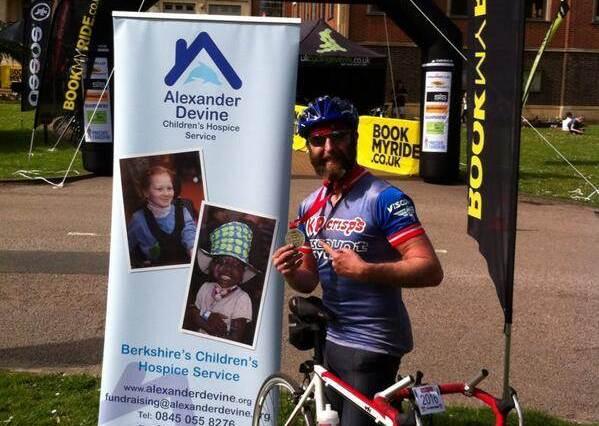 Chris Stallwood Alexander Devine Childrens Hospice Service