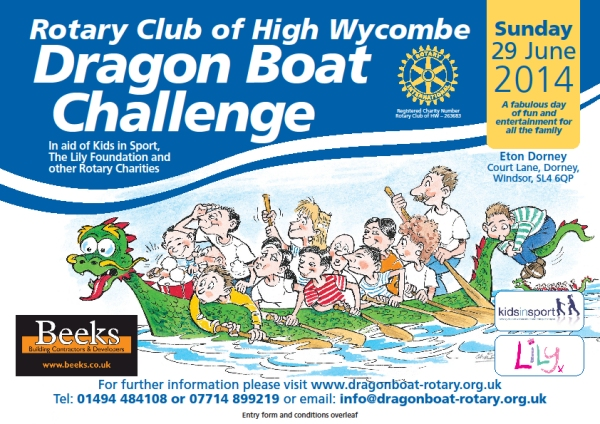 dragon boat challenge 29th june