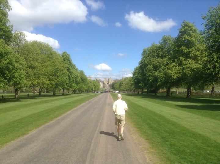 Queen Elizabeth II birthday 21 gun salute Long Walk Windsor Castle where are the guns