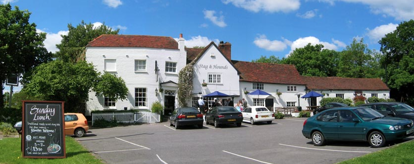 stag and hounds binfield