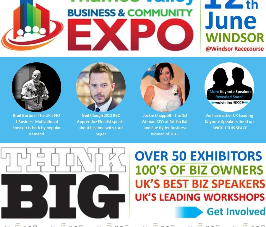 thames valley business and community expo banner