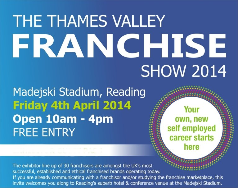 thames valley franchise show 2014