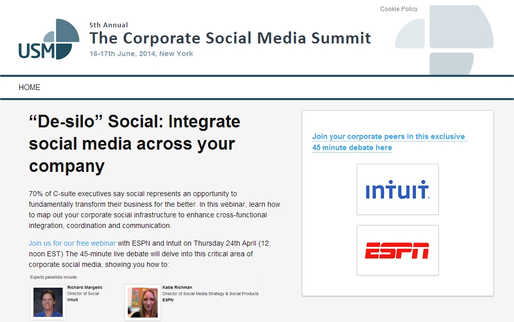 the corporate social media summit