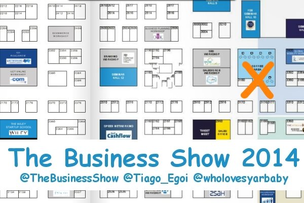 the business show floor