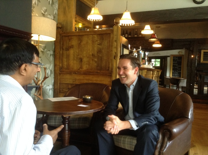 slow business networking binfield stag and hounds neil oldcorn