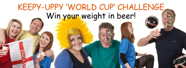 verbatim world cup keepy-uppy challenge