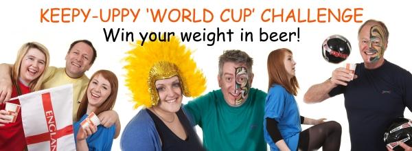 verbatim world cup keepy-uppy challenge