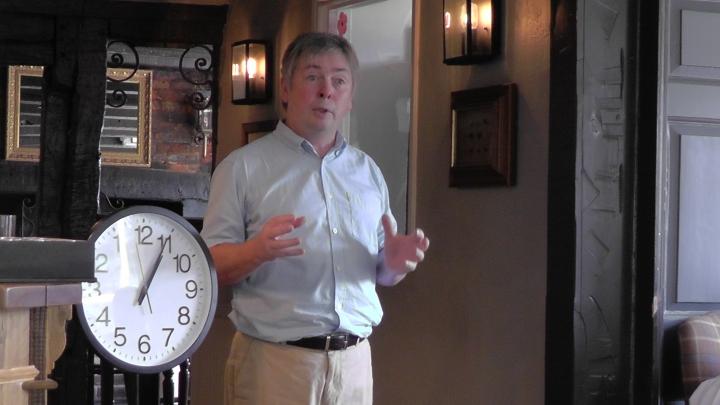 binfield slow networking tom evans