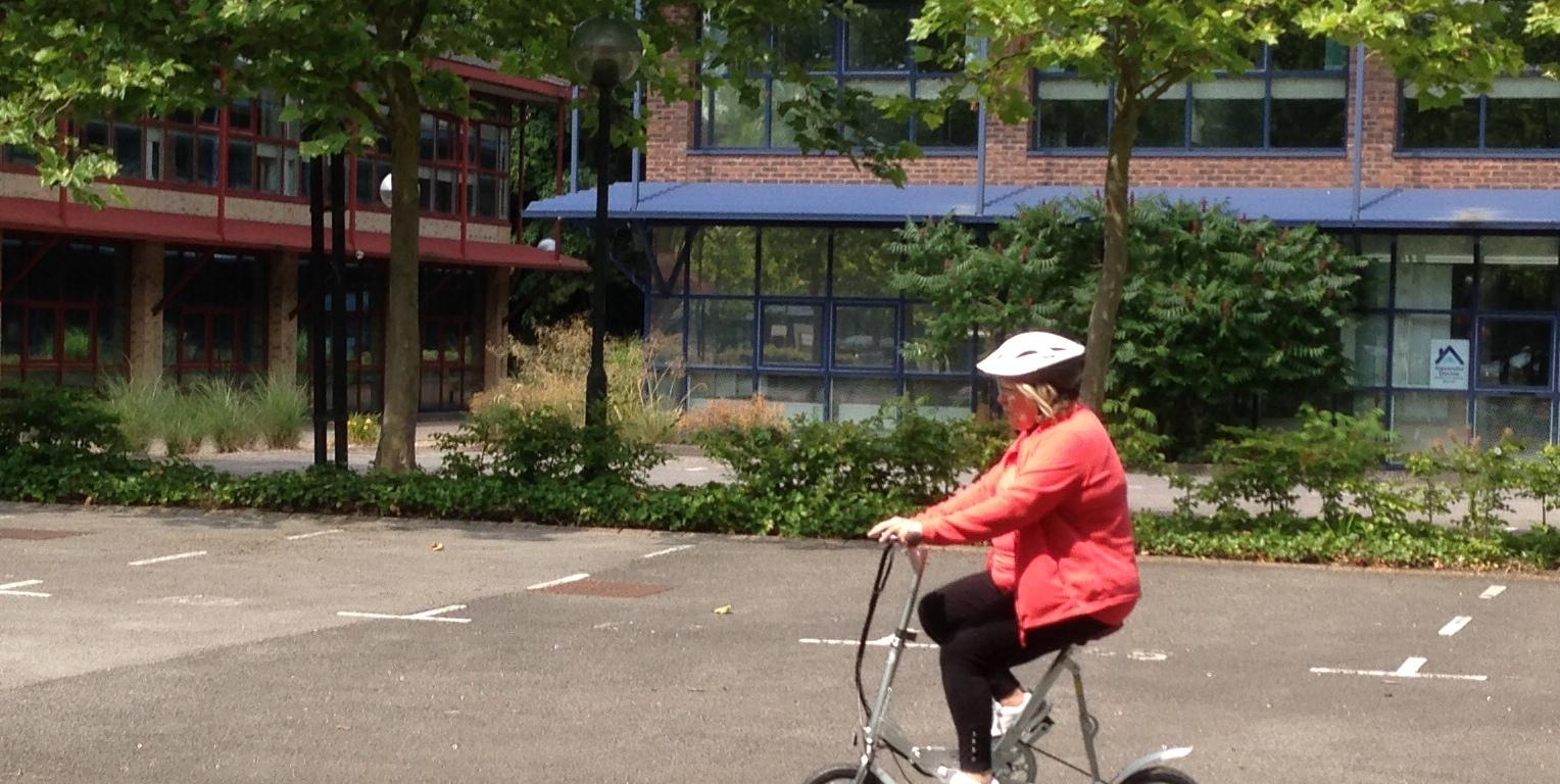 Electric Rider carla riding