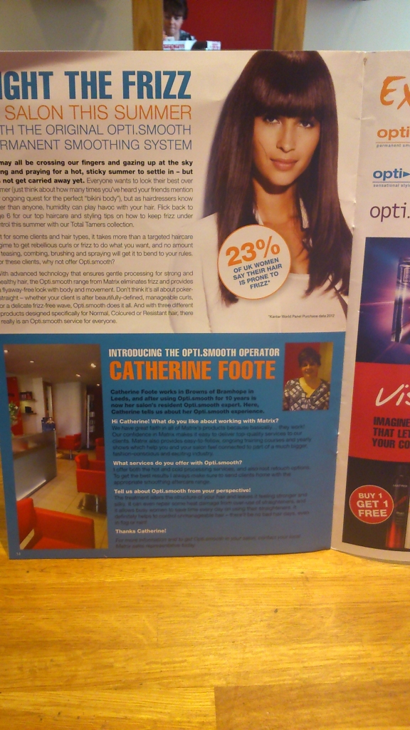 matrix magazine august catherine foote