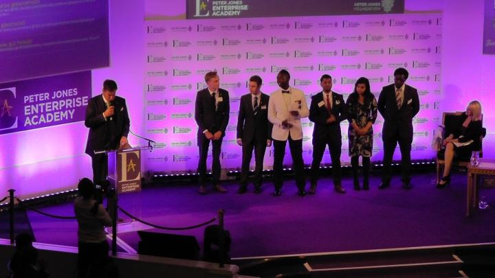 peter jones finalists line up