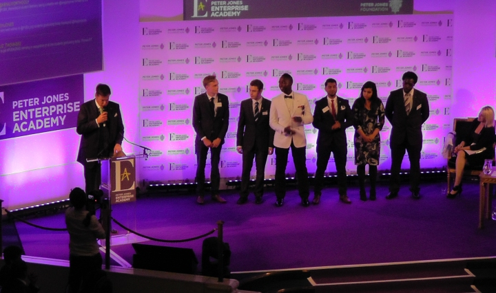 peter jones finalists line up
