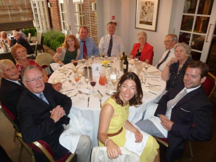 sir ian macfadyen farewell dinner table 4