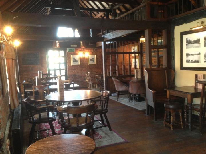 the ship inn wokingham barn area