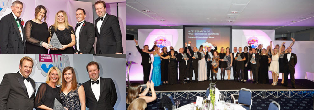 west berkshire business awards stage