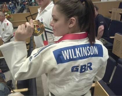 charlotte wilkinson gbr veteran judo gold medalist