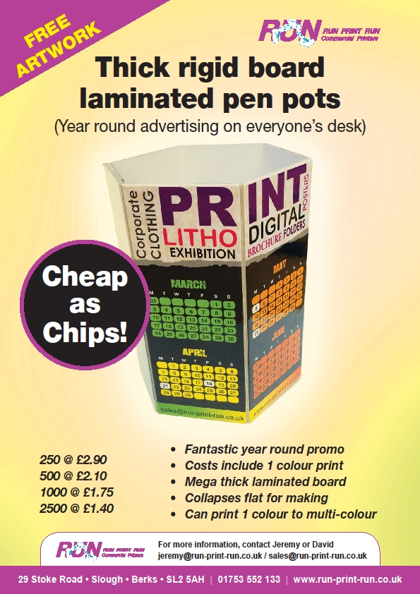 promotional gift pen pot holder