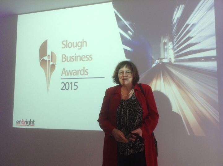slough business awards fiona mactaggart