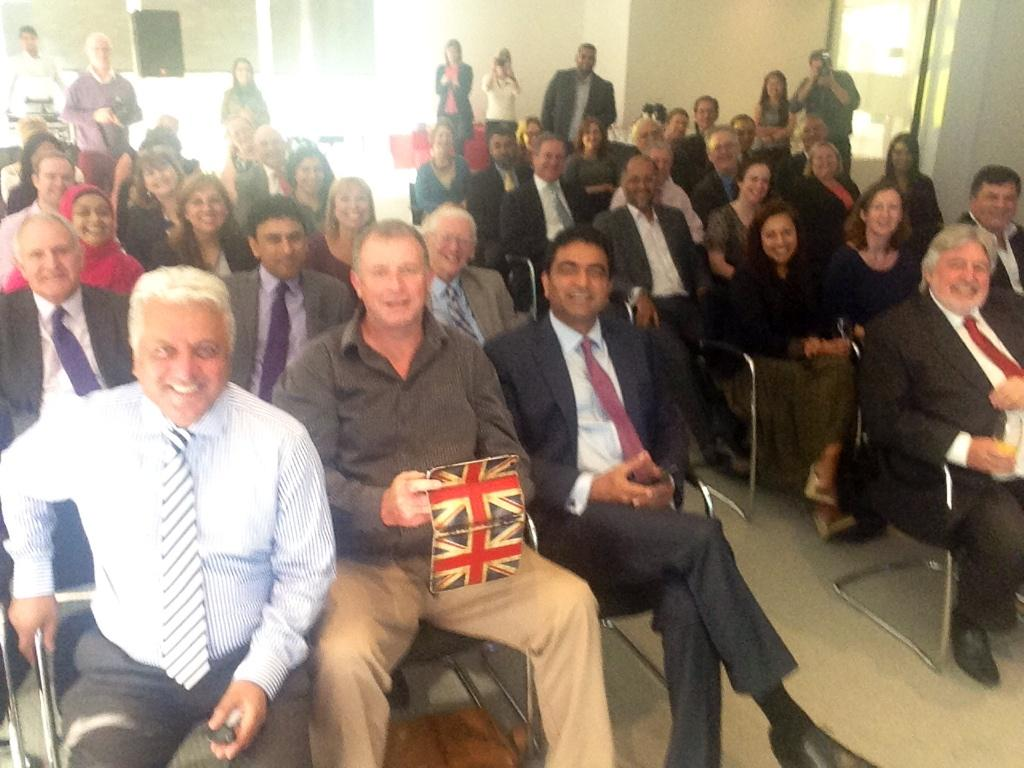 slough business awards rafiq chohan selfie