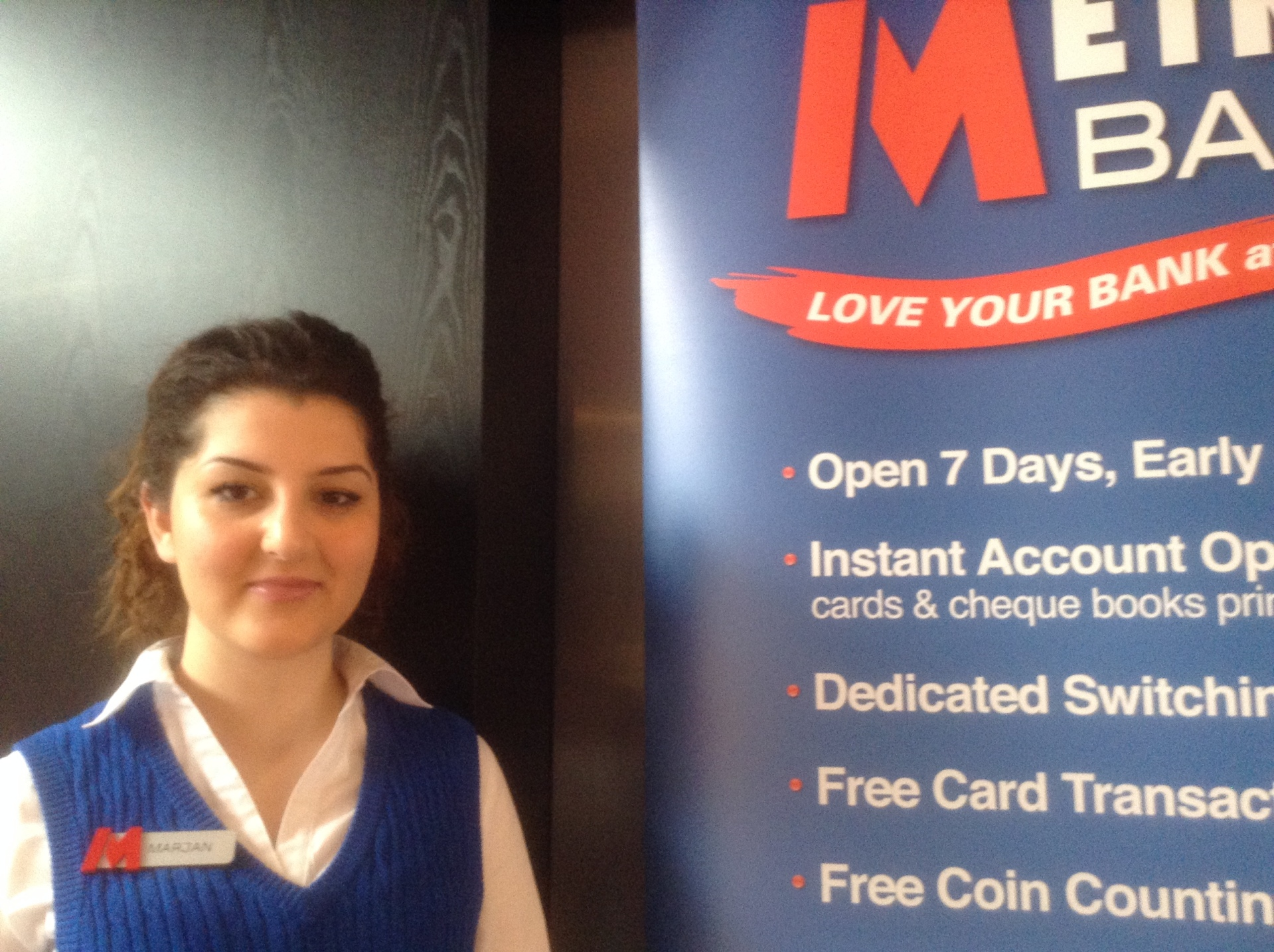 slow business networking metro bank mj