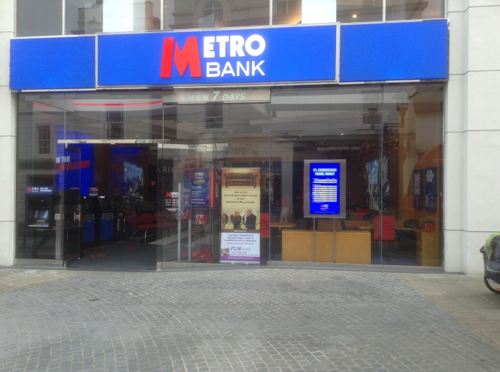 slow business networking metro bank