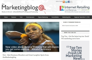 the marketing blog serena williams beatselectronics
