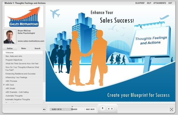 enhance your sales success thoughts feelings and actions