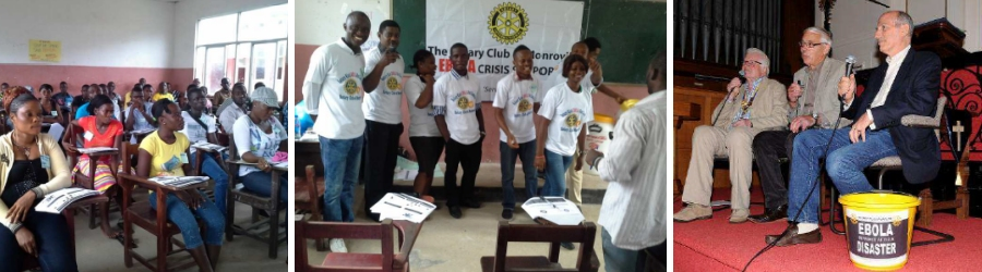 Kick Ebola OUT of Liberia rotary club of monrovia marlow campaign