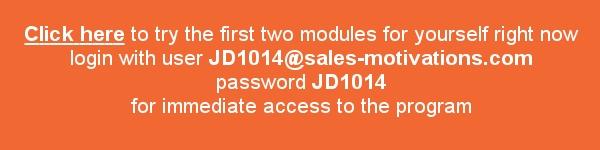 sales motivations login details
