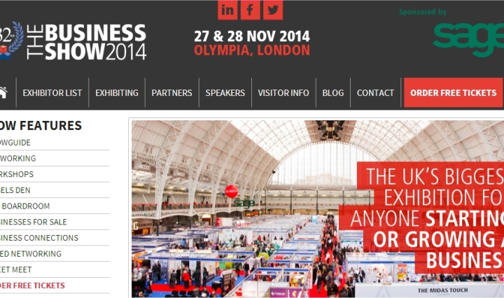 the business show 2014 website