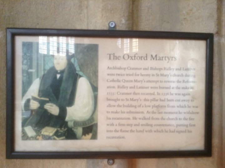 the oxford martyrs