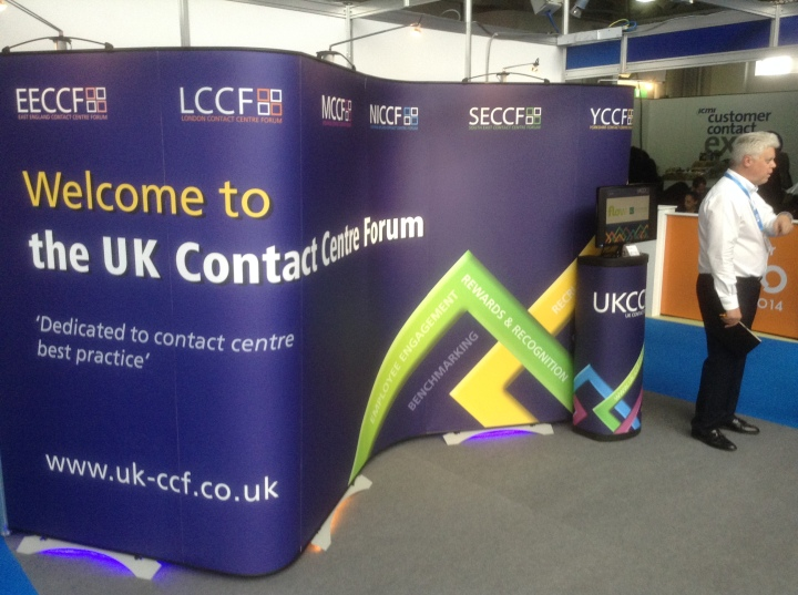 uk contact centre forum bendy stand