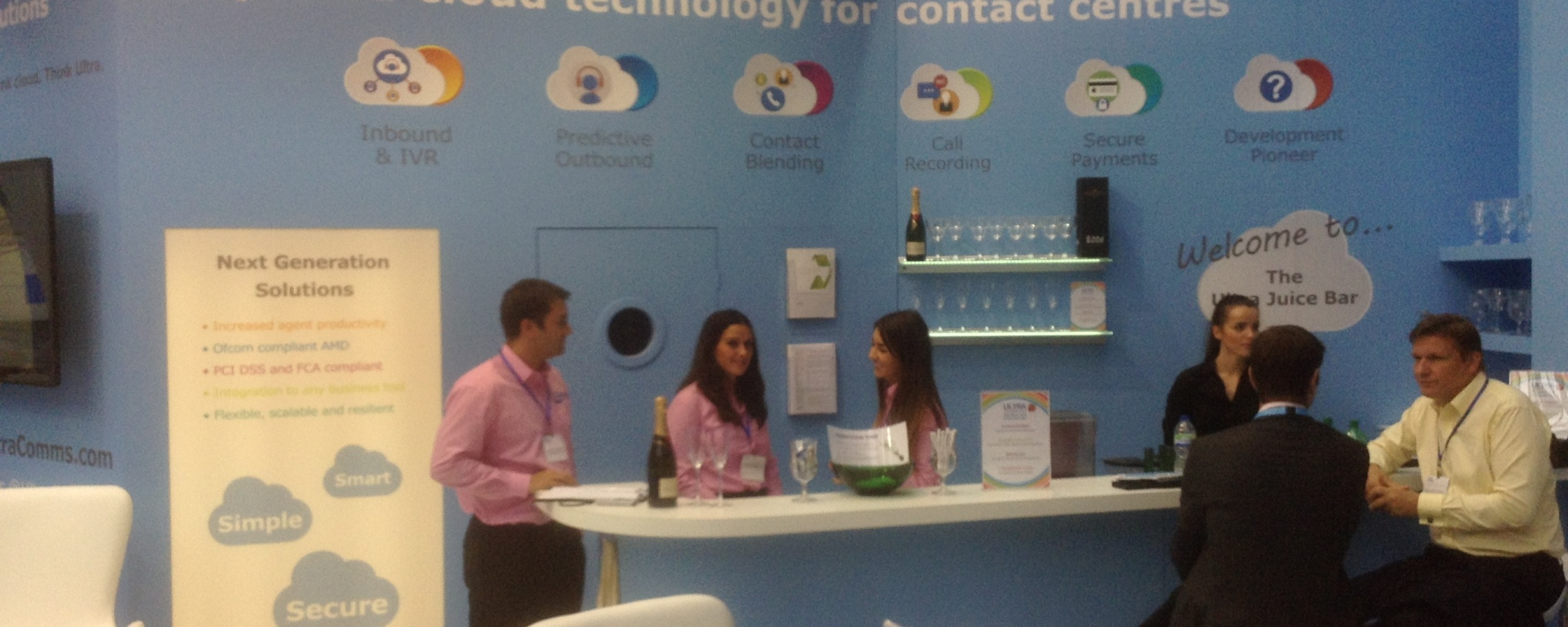 ultra communications best stand at ccexpo14