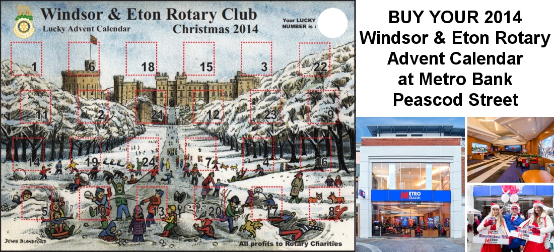 windsor and eton advent calendar metro bank