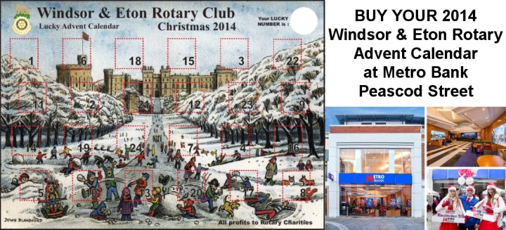 windsor and eton advent calendar metro bank