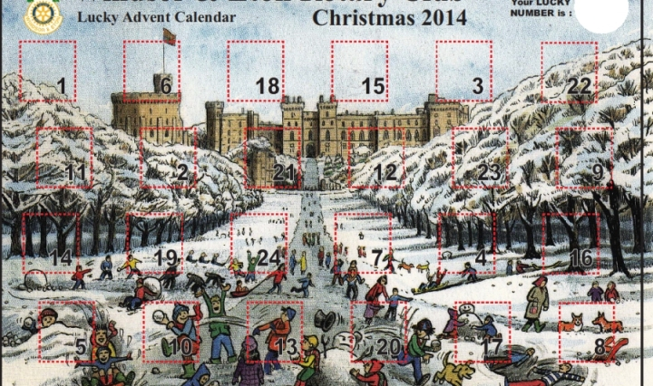 windsor and eton rotary advent calendar 2014