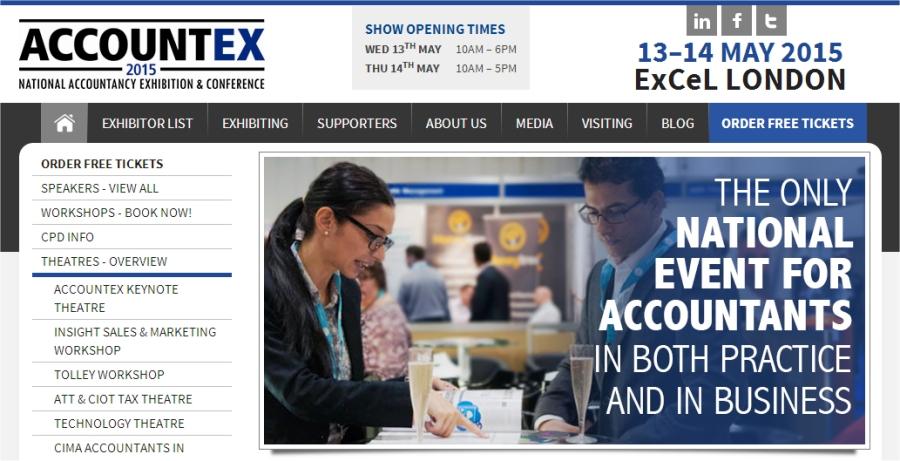 accountex front page
