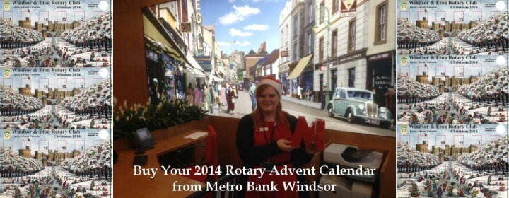 buy your rotary advent calendar