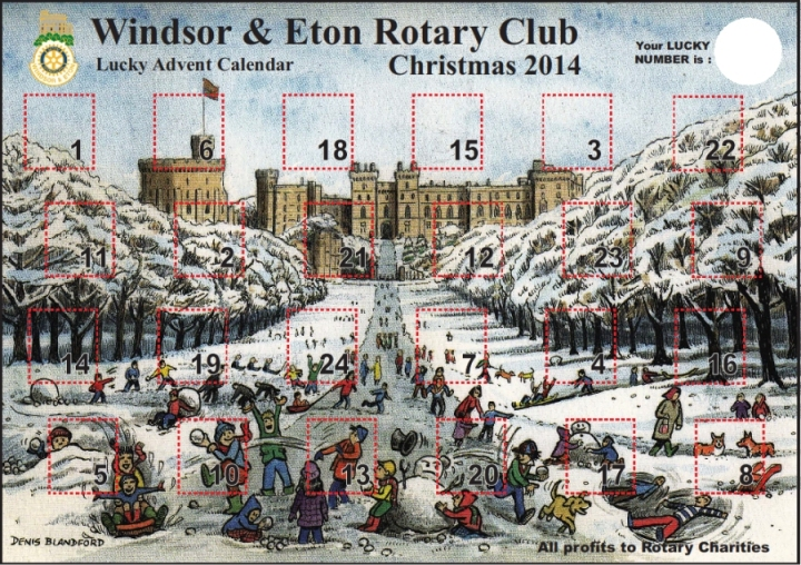 denis blandford advent calendar