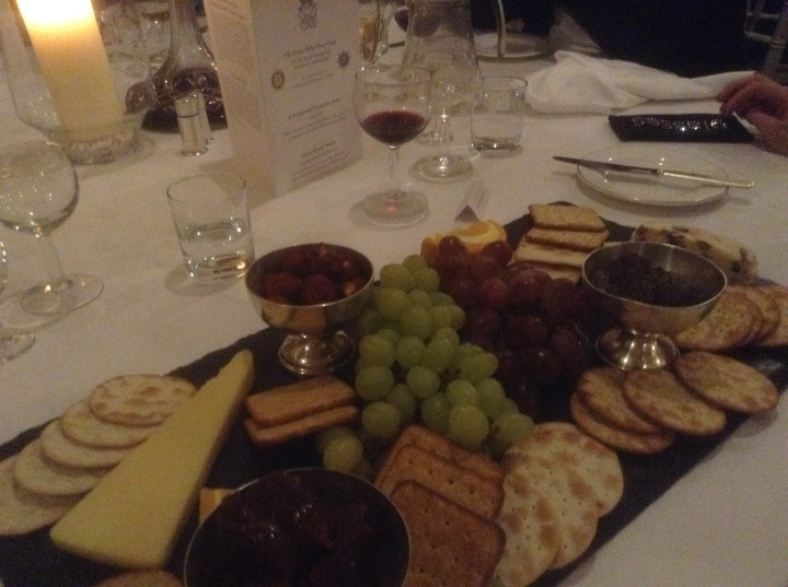 rotary club windsor and eton presentation dinner cheese port