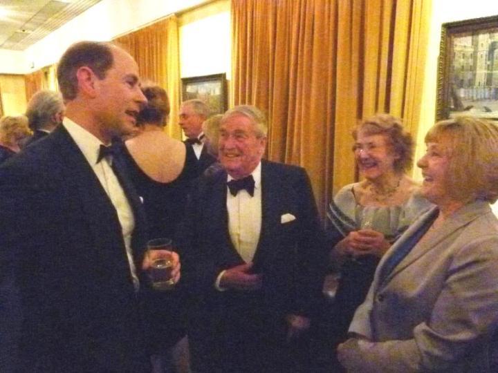 rotary club windsor and eton presentation dinner john hancock and prince philip